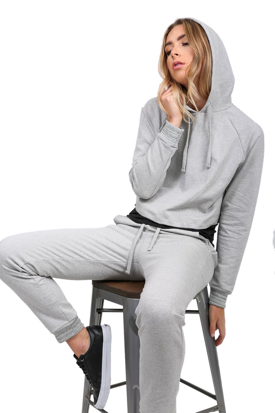 French Terry Hoodie and Jogger